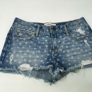 Abercrombie Kids Girls Jean Shorts Size 14
